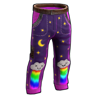 Rainbow Pony Pants