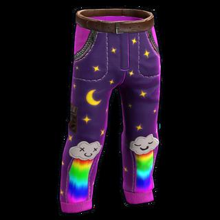 Rainbow Pony Pants