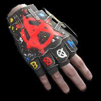 Bombing Roadsign Gloves