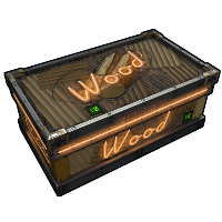 Neon Wood Storage