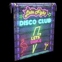 Dance Club Garage Door