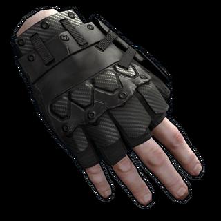 Blackout Roadsign Gloves