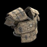 Desert Raiders Roadsign Vest