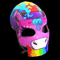 Rainbow Pony Mask