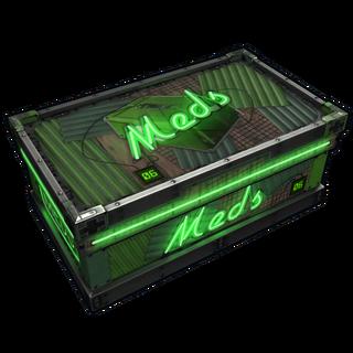 Neon Meds Storage