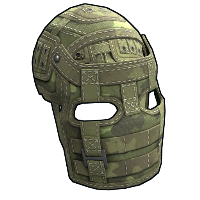 Forest Raiders Facemask