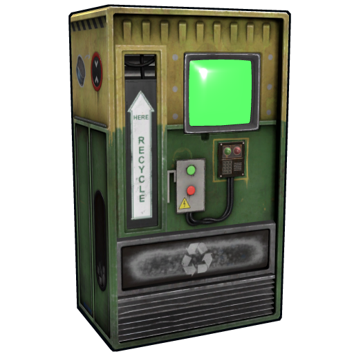 Recycler Vending Machine as seen on a Steam Market