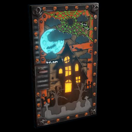 Halloween House Door as seen on a Steam Market