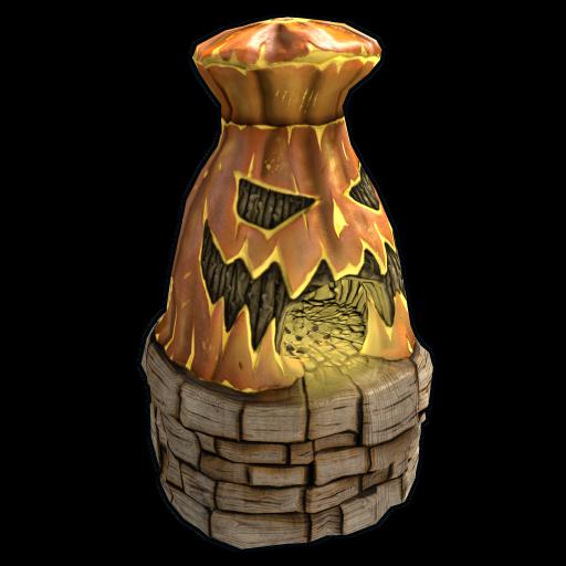 Jack-o'-lantern Furnace as seen on a Steam Market