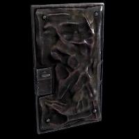 Melted Blast Door