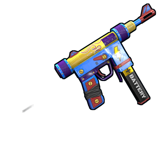 Toy SMG as seen on a Steam Market