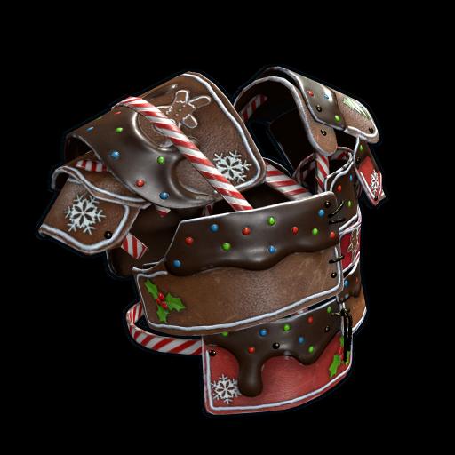 Mr. Gingerbread Vest as seen on a Steam Market