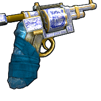 Porcelain Revolver