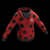 Ladybug Cosplay Hoodie