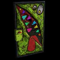 Metal Monster Door