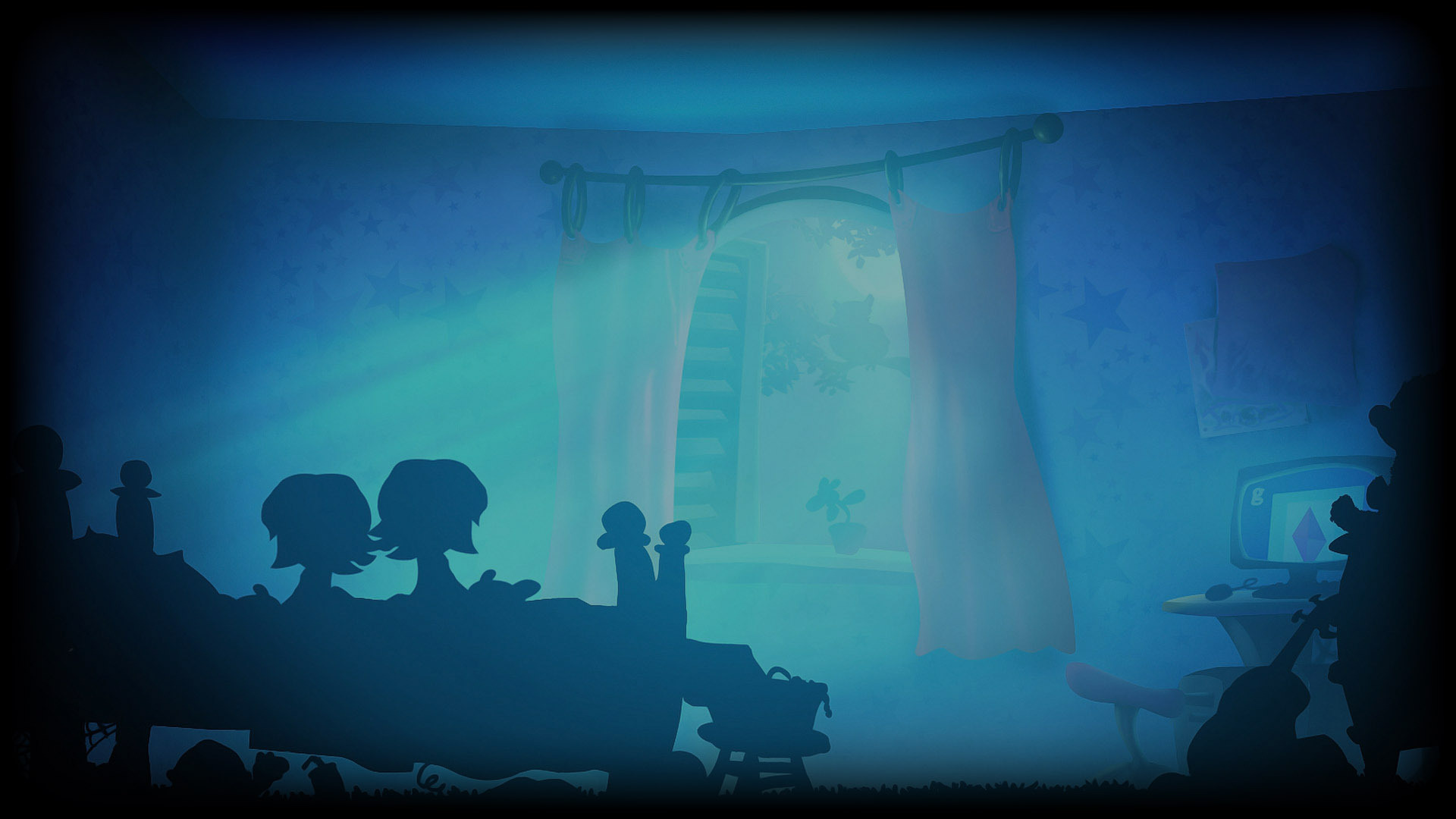 Giana's Room - Night Time