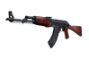 StatTrak™ AK-47 | Red Laminate (Well-Worn)