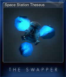 Space Station Theseus (Trading Card)