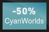 50% OFF Cyan Worlds