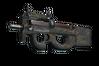 Souvenir P90 | Sand Spray (Battle-Scarred)