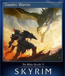 Карточки летнего приключения и игры TES Skyrim.