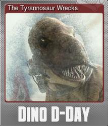 The Tyrannosaur Wrecks (Металлическая)