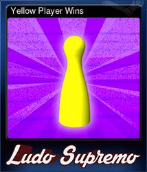 Yellow Player Wins