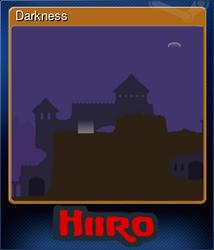 Darkness (Коллекционная карточка)