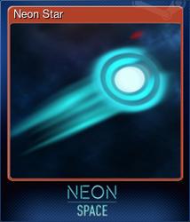 Neon Star (Коллекционная карточка)