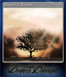 Beautiful Sunset (Коллекционная карточка)