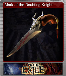 Mark of the Doubting Knight (Металлическая)