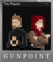 The Players (Коллекционная карточка Металлическая)