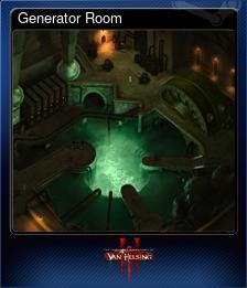 Generator Room (Коллекционная карточка)