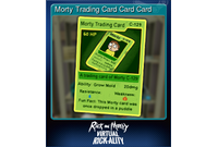 Morty Trading Card Card Card