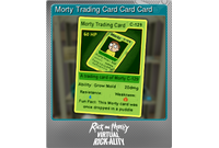 Morty Trading Card Card Card (Foil)