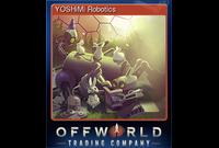 YOSHiMi Robotics (Trading Card)