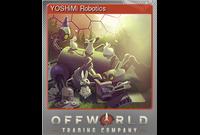 YOSHiMi Robotics (Foil Trading Card)