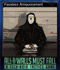 Faceless Announcement