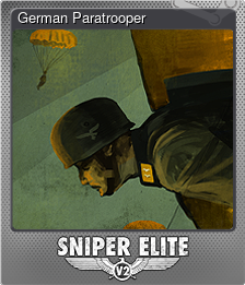 German Paratrooper (Foil)