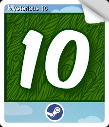 Mysterious Card 10