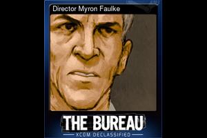 Director Myron Faulke