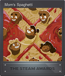 Mom's Spaghetti (Trading Card)