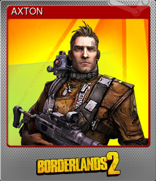 AXTON (Foil Trading Card)