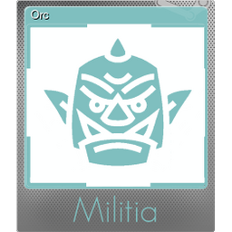Orc (Foil Trading Card)