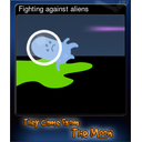 Fighting against aliens