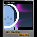Lonely alien (Foil)