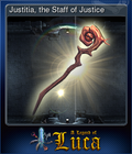 Justitia, the Staff of Justice