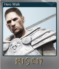 Hero Walk (Foil Trading Card)