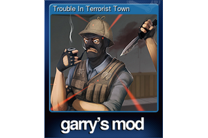 Trouble In Terrorist Town Trading Card