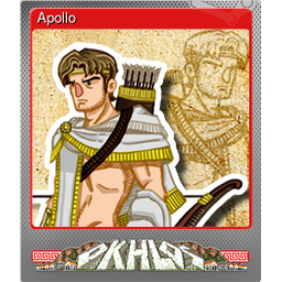 Apollo (Foil Trading Card)